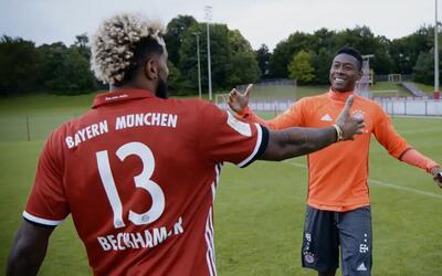 Odell Beckham Jr. globaliza la NFL con sus amigos del Bayern Munich