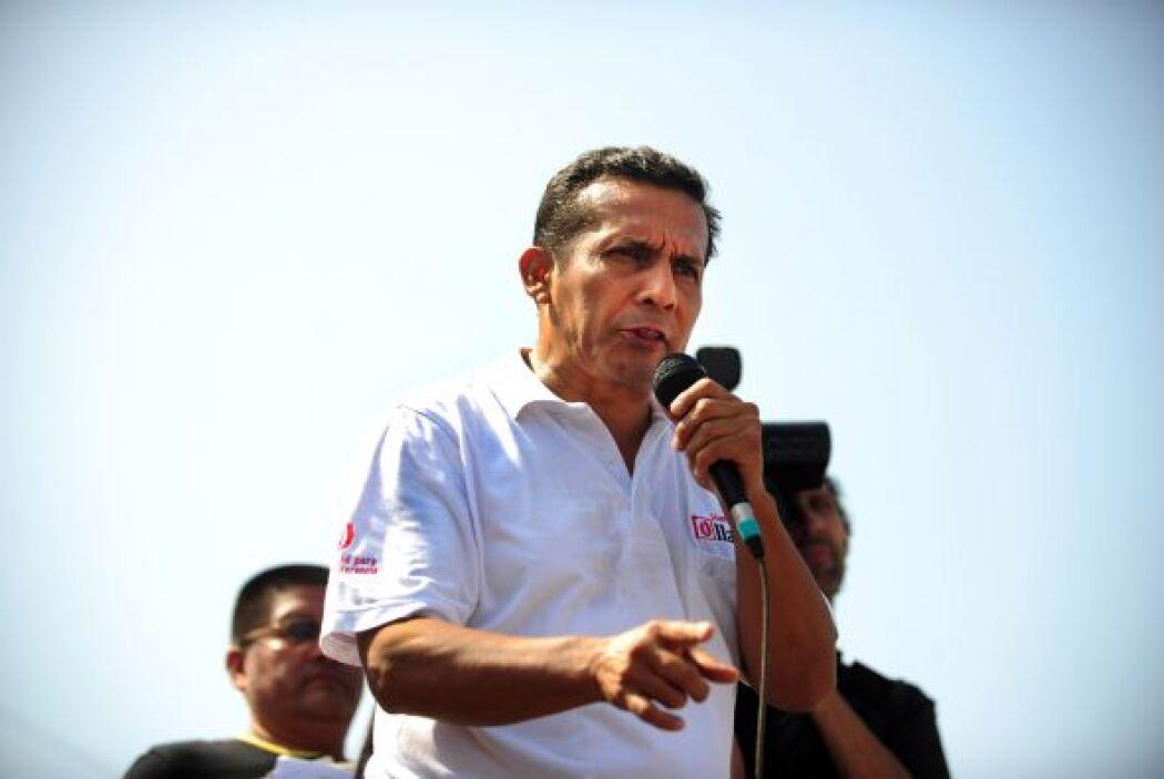 Mientras que Humala, candidato del Partido Nacionalista Peruano, cuenta...