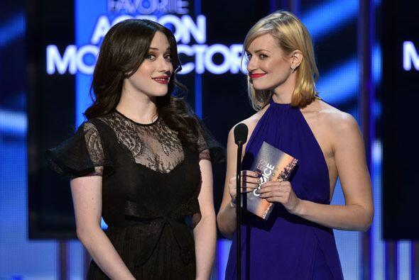 Las '2 Broke Girls', Kat Dennings y Beth Behrs, estaban encantadas de no...