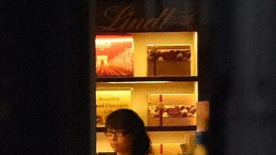 La cafetería Lindt Chocolat Cafe en la ciudad de Sídney, Australia, fue...