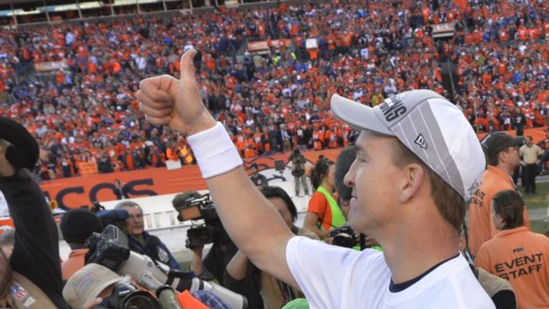 Peyton Manning respondió como uno de los más grandes de todos los tiempo...
