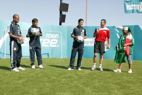 Félix Fernández estuvo en Dallas con jugadores del Tri y l...