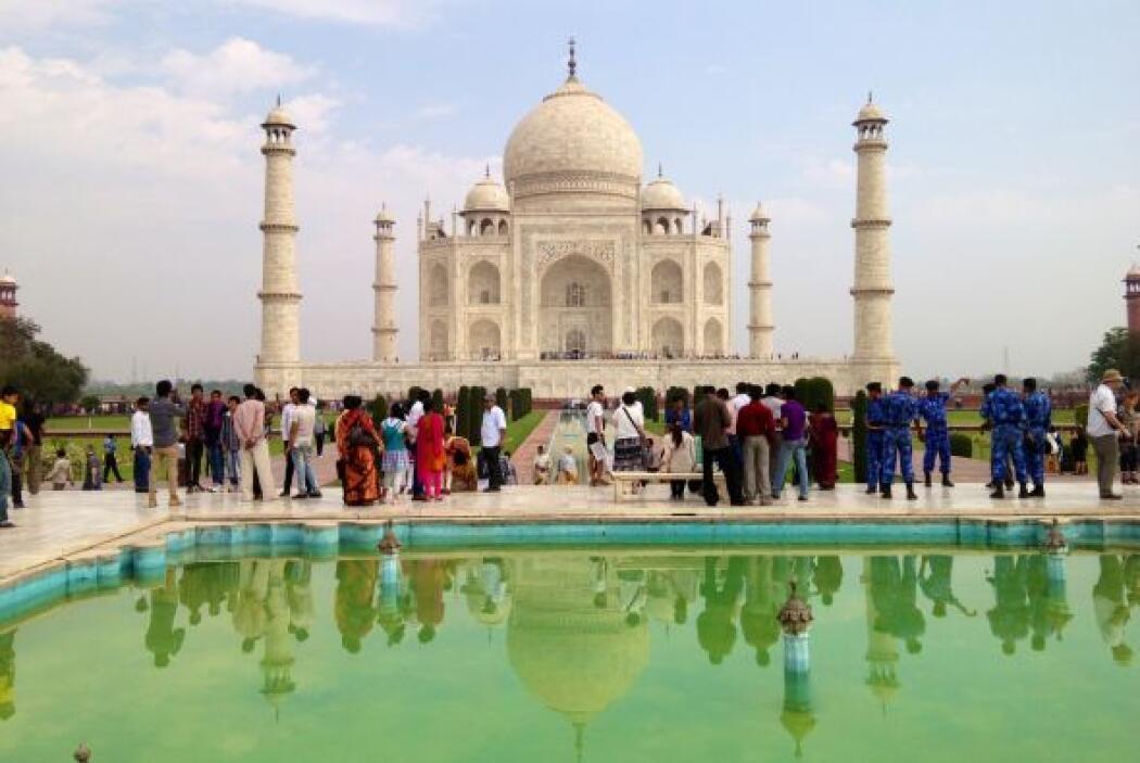Aunque la parte de la cúpula del mausoleo es lo más conocido, en realida...