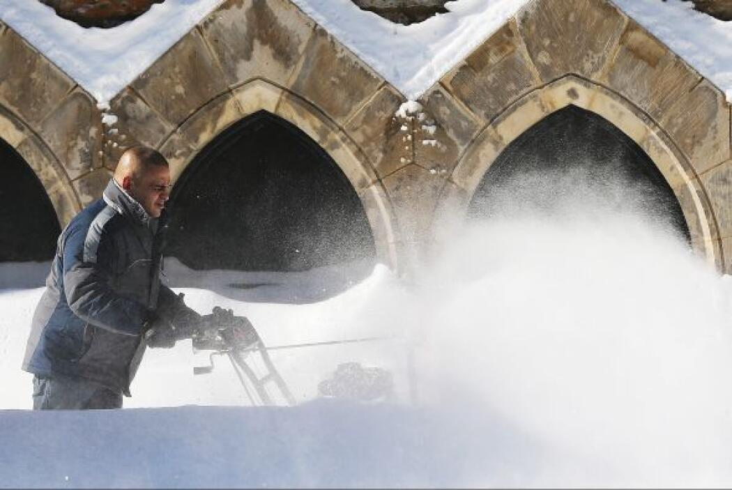 Las autoridades han destacado que,a pesar del metro de nieve acumulado e...