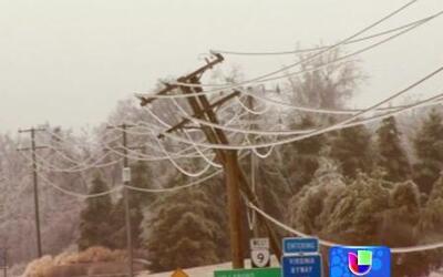 Más de un millón de estadounidenses sin luz gracias a las tormentas de n...