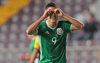 Con dos de Ronaldo, México Sub 20 arrancó bien el Premundial de Costa Rica