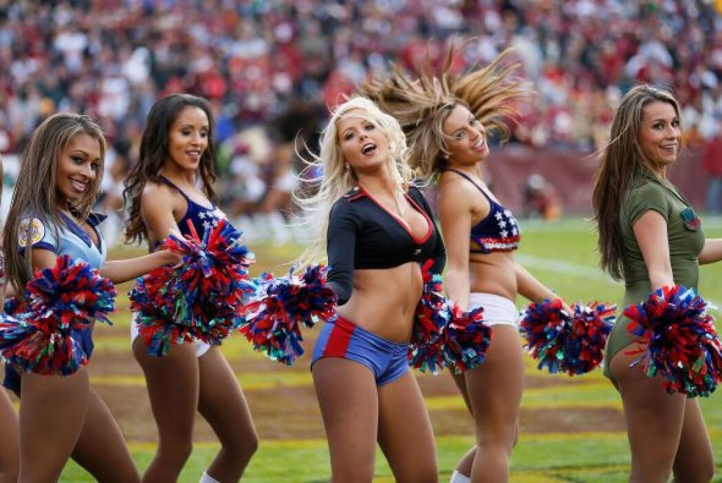 La jornada 11 de la NFL terminó y estas son las porristas más bellas y s...