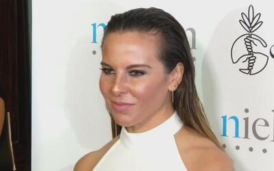 Sorprendimos a Kate Del Castillo con un guapo acompañante en Los Ángeles