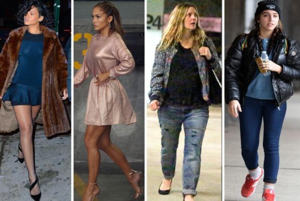 Esta semana el 'glamour' casi no acompañó muchas de estas celebridades,...