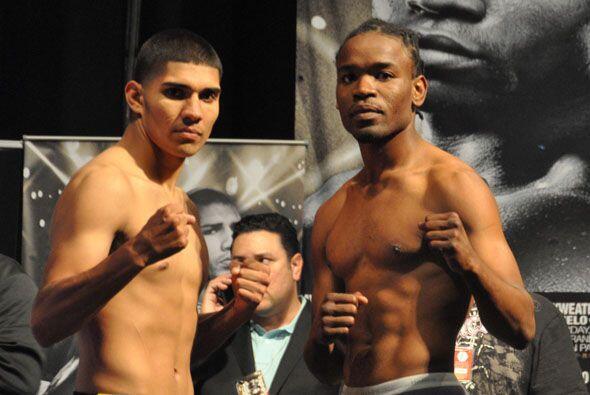 Antonio Orozco pesó 142 lbs. y Dillet Frederick 140.