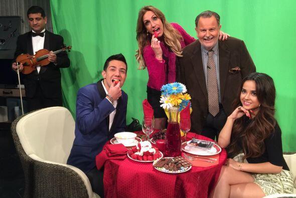 Lili Estefan y Raúl de Molina estuvieron ahí presentes par...