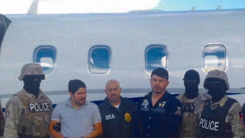 Los venezolanos fueron arrestados por agentes haitianos y de la DEA.