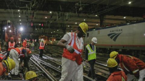 Amtrak anuncia que los trabajos de modernización en Penn Station iniciar...