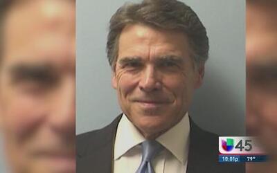 Rick Perry fichado pero no intimidado