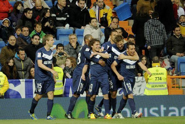 Un gran tanto para Málaga, a pesar de que en todo el juego el dom...