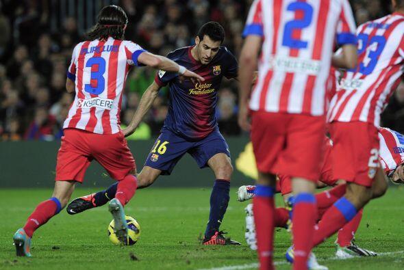 El hombre del Barcelona se inventó un gol de enorme técnic...