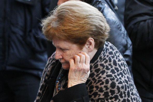 La madre del actor lucía devastada. Más videos de Chismes aquí.