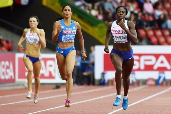 Tres mujeres atletas que participaron en el Europeo de Atletismo de Zuri...