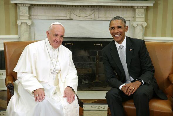 El encuentro en la Oficina Oval fue cordial.