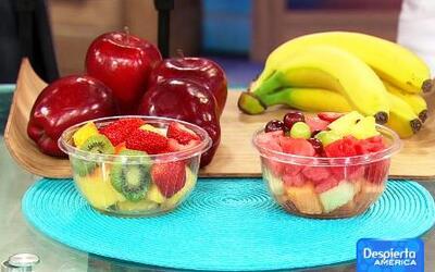 10 meriendas saludables que puedes comer cuando estas de vacaciones