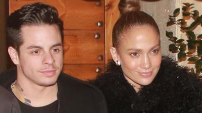 Jennifer Lopez y Casper Smart de romance en Roma