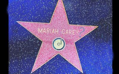 Así quedó la estrella de la cantautora Mariah Carey en el...