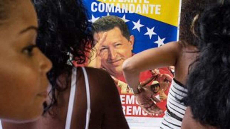 El presidente de Venezuela, Hugo Chávez Frías.