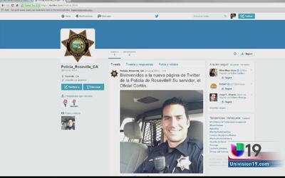 Policía de Roseville abre cuenta deTwitter en español