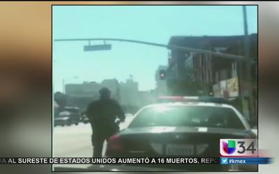 Acecho a policías en LA resultó ser inofensivo