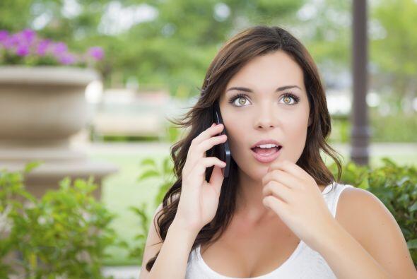 Recibir una llamada inesperada:  Si es de alguien con quien NO quieres h...