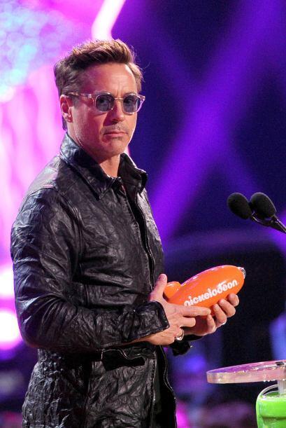 Robert Downey Jr. fue el actor favorito del año. Mira aquí los videos má...