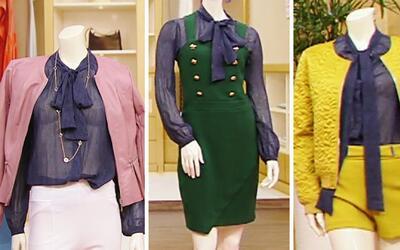 Una blusa, tres looks diferentes: Multiplica tu imagen con una blusa de...