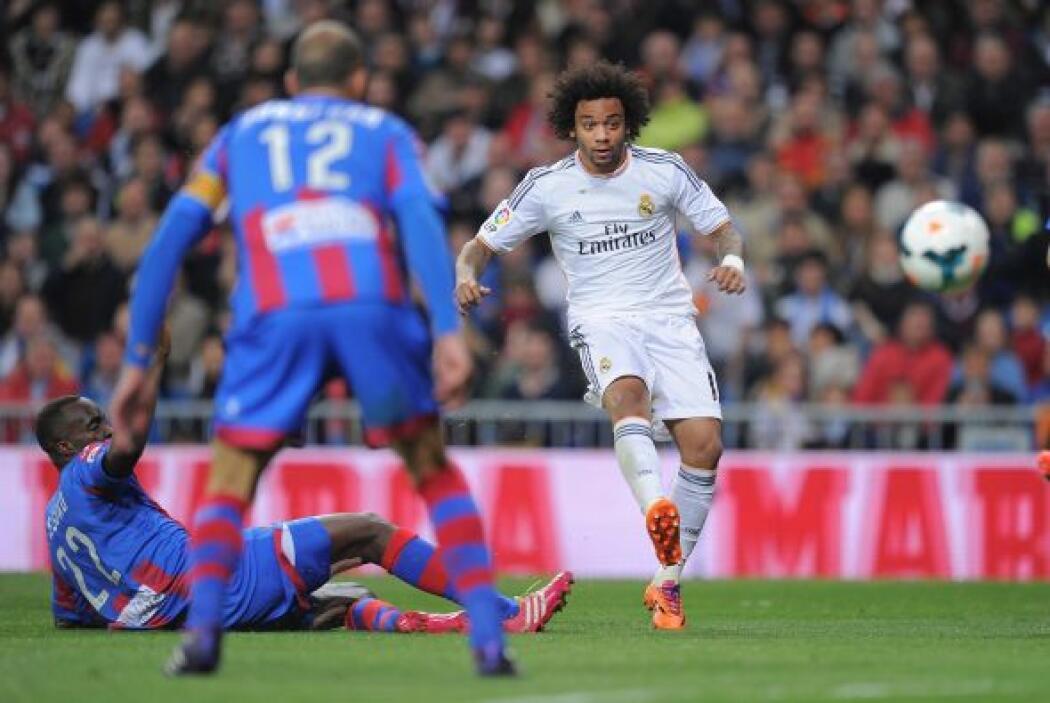 Un lateral brasileño marcaría su primer gol de la temporada.