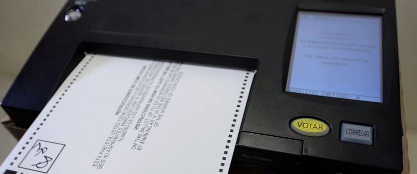 Estas elecciones generales, el proceso de votación en Puerto Rico...