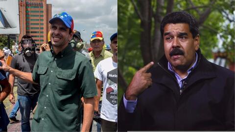 Capriles resulta herido tras una nueva manifestación y Maduro acusa al g...