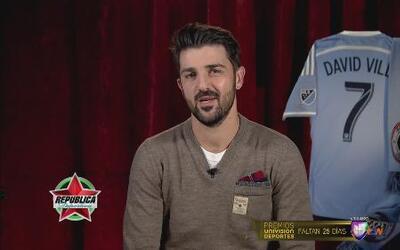 David Villa ya acoplado al New Yor City FC de la MLS