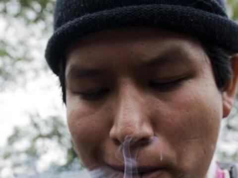 Un Rally a favor de la legalización de la marihuana se realizó este fin...