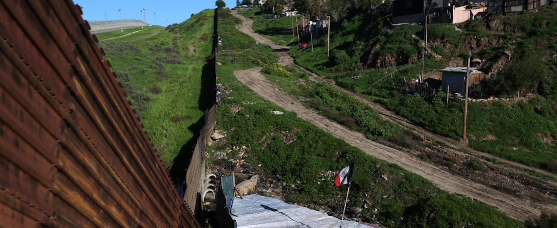 Las casas de la frontera, así es la vida junto del muro entre EEUU y México
