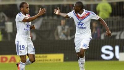 Briand salvó al Lyon, o, mejor dicho, le dio los tres puntos en la parte...