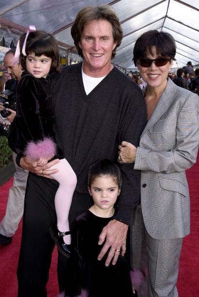 Kris y Bruce tuvieron dos nenas, Kendall y Kylie.