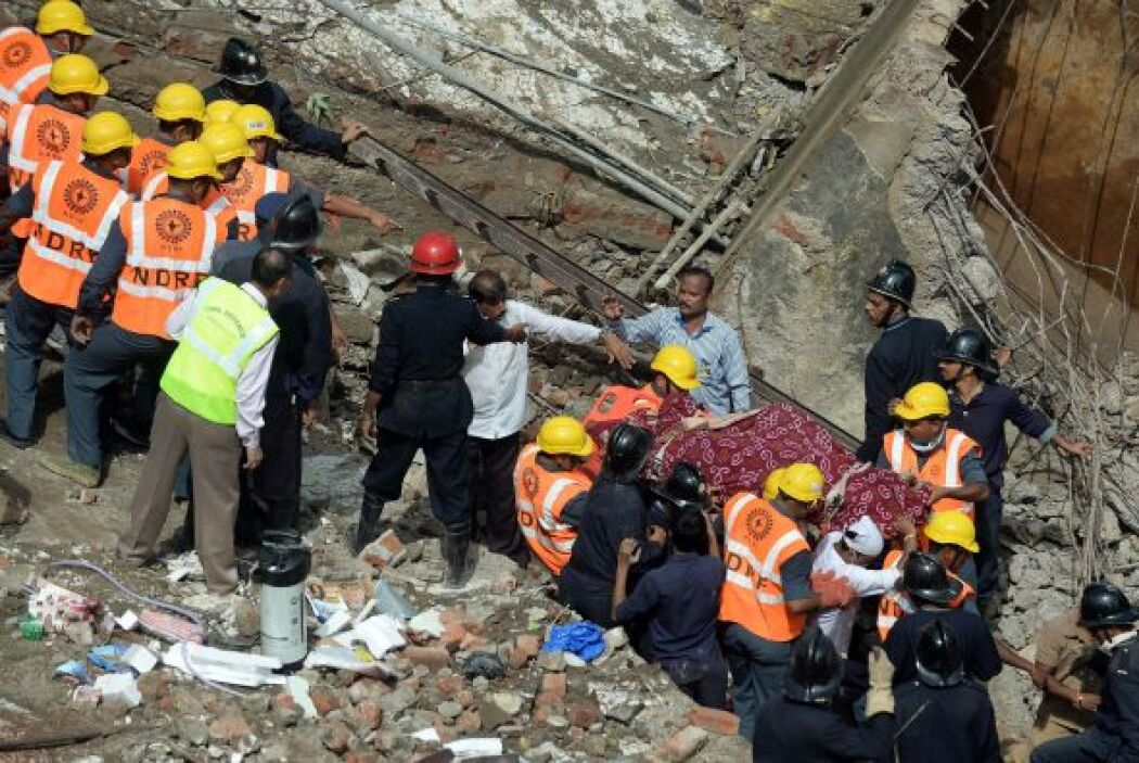 Siete personas fueron hasta ahora rescatadas con vida, declaró Manisha M...