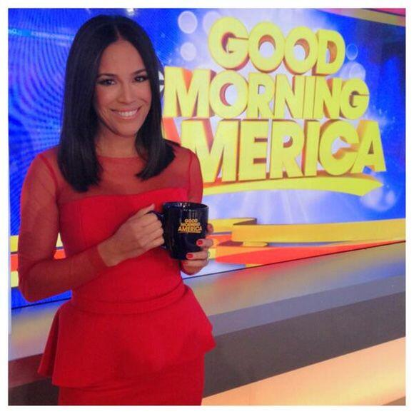 """""""Thank you @GMA I had so much fun! Gracias from my heart! Hope to s..."""