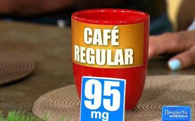 Cuidado con la cafeína escondida en varios alimentos