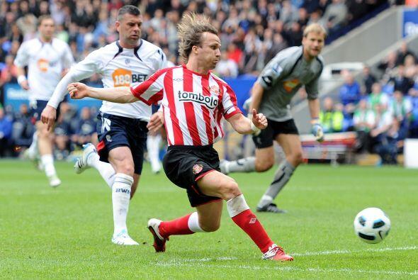 Sunderland demostró que con sus ganas puede conseguir cosas impor...
