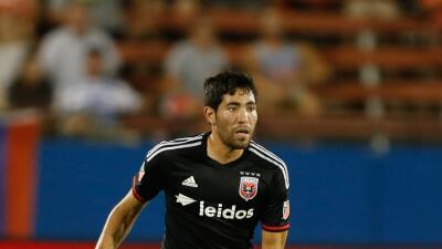 Miguel Aguilar, delantero mexicano de D.C. United