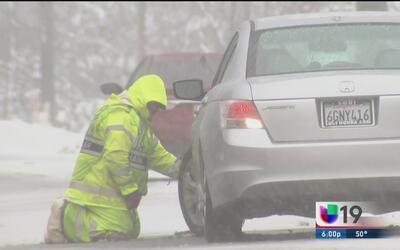 Tormenta invernal causa estragos en zonas altas