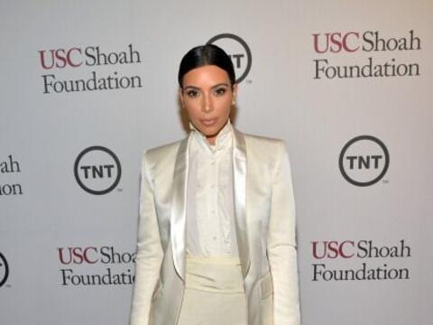 Kim Kardashian presumió tremendas curvas en la gala de la Fundaci...