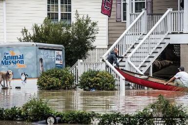 Huracán Joaquín provoca daños millonarios en las Carolinas