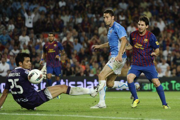 Tras dos empates que causaban nerviosismo al Barcelona, Messi comand&oac...