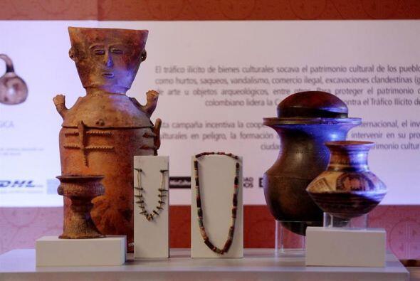 """La policía española decomisó en 2003 el tesoro, como parte de la """"Operac..."""
